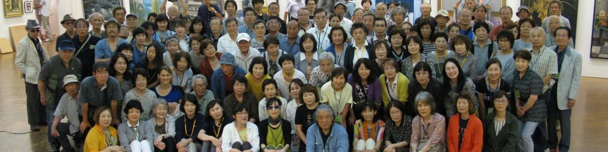 2016/6/26 三重県洋画協会全員写真
