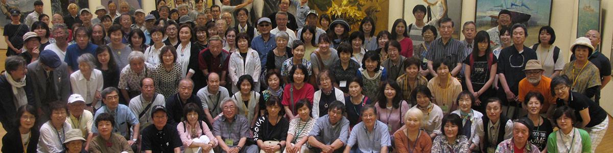 現 三重県洋画協会全員写真
